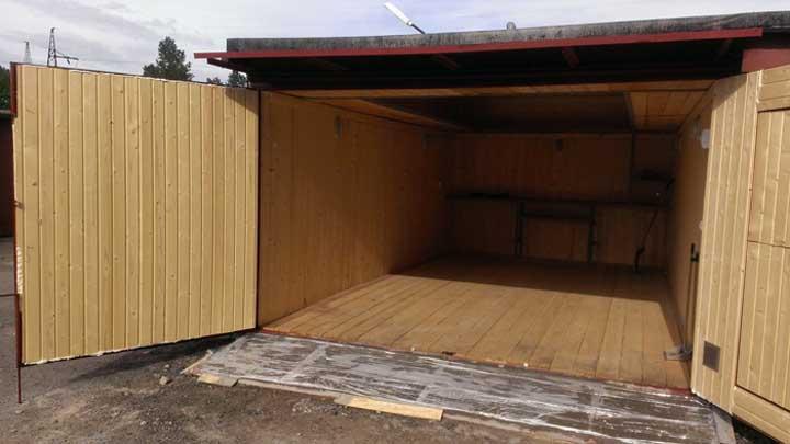Полы деревянные в гараже своими руками