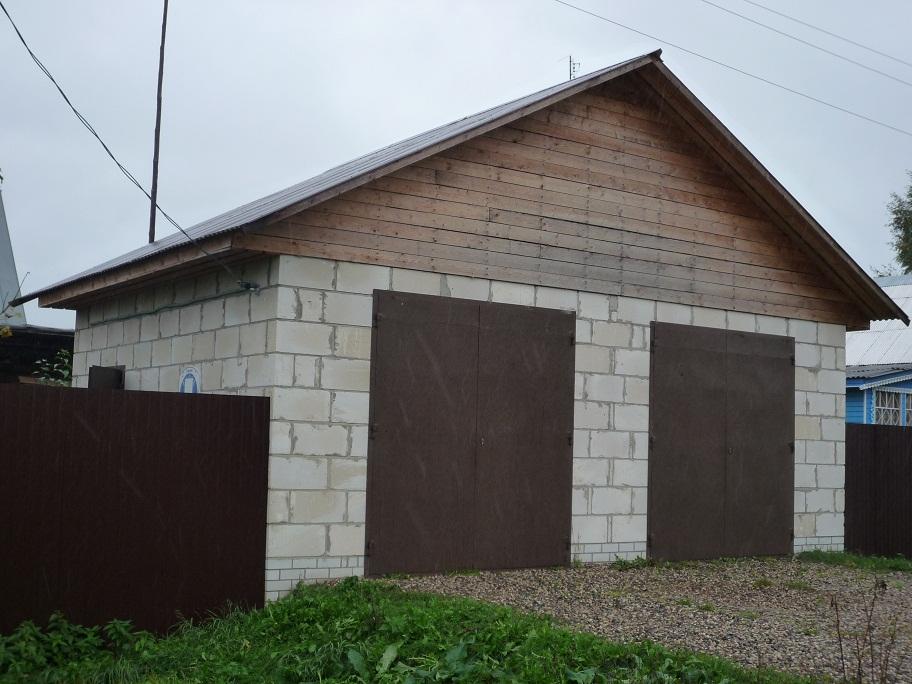 Построить гараж своими руками видео