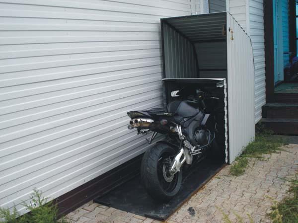 Обустройство дачного гаража