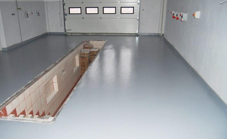 Наливной пол для гаража купить в москве жидкая теплоизоляция астратек, расход