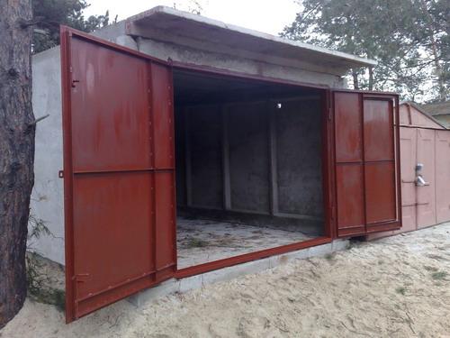 Ворота в гараж изготовить